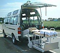 患者輸送車両STS